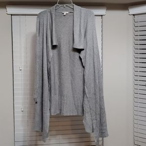 The Limited Scandal CollectioN Gray Sweater Size L